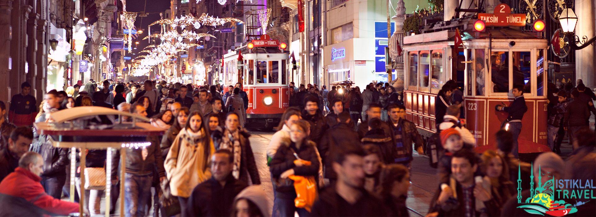 تركيا اسطنبول شارع الاستقلال