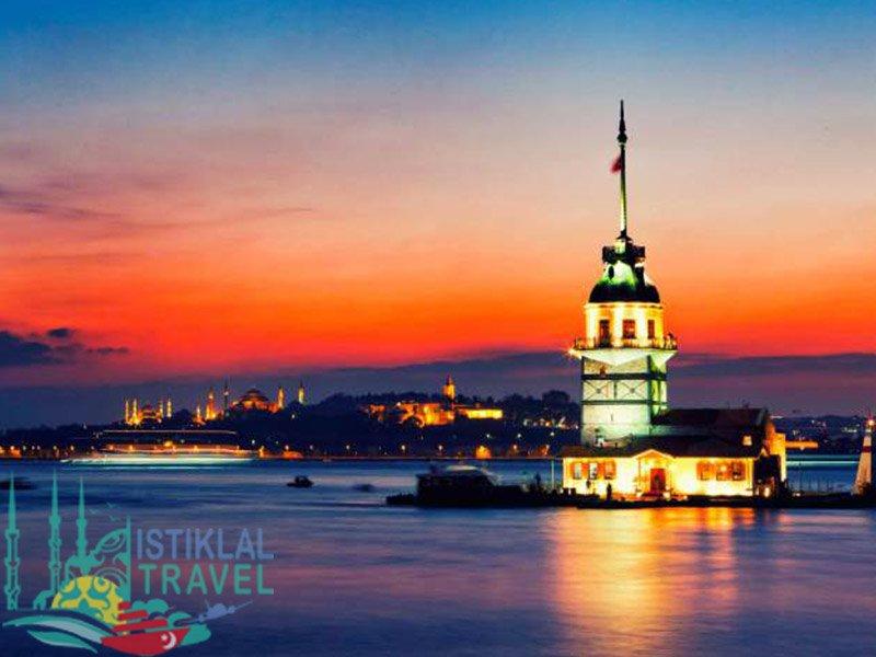 برنامج سياحي تركيا ثمانية ايام برج البنت
