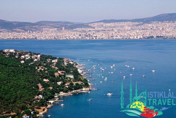 جزيرة الأميرات في تركيا اسطنبول