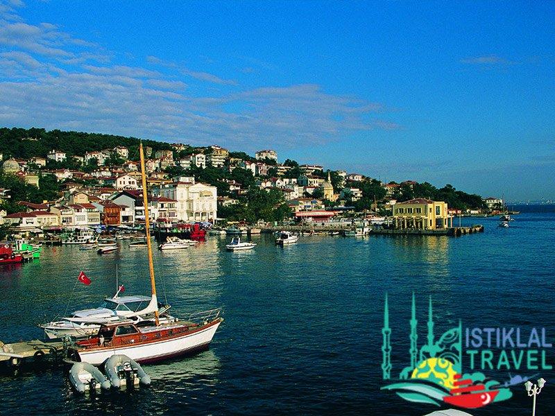 جزيرة الأميرات في أفضل برنامج سياحي في تركيا