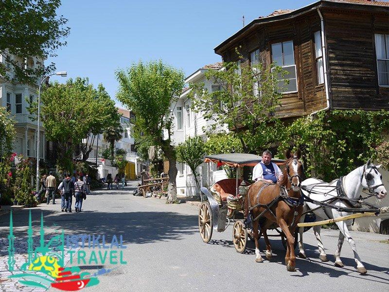الحنتور جزيرة الأميرات تركيا